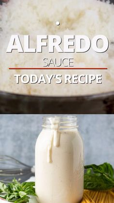 In this How to Make Alfredo Sauce recipe Im sharing my American-style version. Its creamy cheesy and amazingly easy to make. Perfect for over any pasta to pour on top of sautéed chicken or as a dipping sauce for or over vegetables or breadsticks. Best Alfredo Sauce Recipe, Make Alfredo Sauce, Pasta Alfredo, Homemade Chicken Alfredo Sauce, Alfredo Sause, Fetuccini Alfredo, Molho Alfredo, Tasty Videos, Food Videos