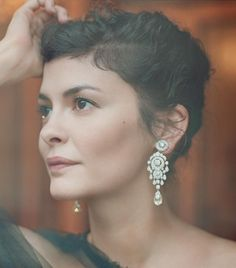 Audrey Tautou. When Gamines mature, they might want to choose clothes and accessories that lean to Theatrical Romantic or Soft Classic. I think other leaning are possible too, because Gamines can often easily combine different styles. But of course there has to be common theme in clothes, that are combined.