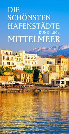 Das Mittelmeer bietet weit mehr als Badestrände und Hotelburgen: Geschichtsträchtige Städte, oft mit einzigartiger Architektur, liegen hier an den Küsten. Wir zeigen acht besonders beeindruckende Hafenstädte, von Spanien bis Israel.