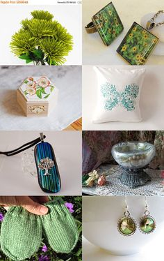 Wonderful green! by Мила Усик on Etsy--Pinned+with+TreasuryPin.com