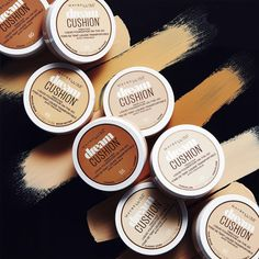 Maybelline's Dream Cushion foundation is a new beauty must have! It allows you to apply liquid foundation on the go and gives you medium-full coverage while still keeping your skin looking fresh.