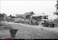 Land rover serie 1 & american jeeps