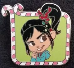 1996 - Wreck-it Ralph Mystery Pin Set - Vanellope von Schweetz ONLY | Released: 07/25/2014 - Limited Release