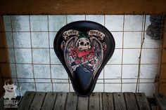 Bobber Seat, Custom Motorcycles, Porsche Logo, Vehicles, Leather, Fur, Custom Bikes, Cars, Vehicle
