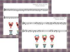 Descargas libres de láminas, partituras, canciones, juegos, cuentos y un millón de actividades e ideas para las clases de música