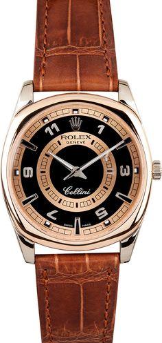 Rolex Cellini Rose Gold 4243