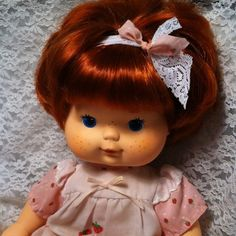 Kenner 80s Vintage Strawberry Shortcake Blow Kiss Baby Doll...she smelled so good!!!
