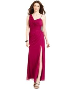 This is the other dress I was considering...except in the plum color