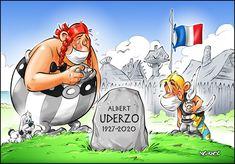 Comic Book Drawing, Comic Books Art, Book Art, Asterix E Obelix, Albert Uderzo, Walt Disney, Classic Comics, Fun Comics, Cartoon Drawings