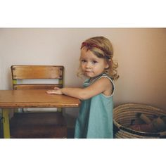 Cute little girl ❤ liked on Polyvore