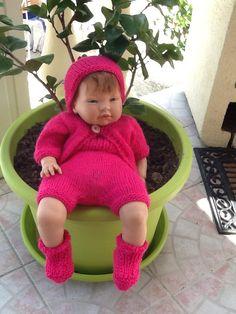 Pauline.... Pour qui je tricote et crochette.