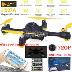 Price - $119.79. Hubsan H507A X4 Star Pro 720P Camera Wifi FPV RC Quadcopter Selfie Drone Toys ( Model Grade - Toy Grade, Fuel Type - Electric, Brand - Hubsan, MPN - Does Not Apply, Color - White, Required Assembly - Almost Ready/ARR/ARF (Accs required), Model - H507A, Material - ABS/Plastic, Flying time - about 9mins, Control distance - 100m, Headless mode - Yes, Hover Function - Yes, Gender - Boy&Girl, With Original Box - Best for GIFT, Camera Features - Built-in HD camera 720P, Features -