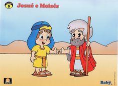 Bloguinho da Vânia: Josue e Moises