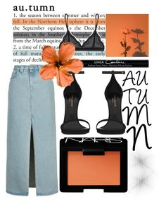 """""""AUTUMN"""" by yahav8-2002 ❤ liked on Polyvore featuring Topshop, Givenchy, Yves Saint Laurent, Cosabella and NARS Cosmetics"""