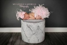 Pink Feather Couture Satin Bloomers & Headband Set Newborn Infant Girl  Spring Easter Valentine  photo session prop Diaper Cover on Etsy, Sold