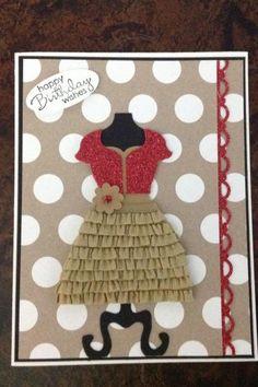 Dress up framelits by bethsuhr - Cards and Paper Crafts at Splitcoaststampers