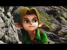 Unreal Engine 4 [4.18.1] Kite Demo / Link Cutscene - YouTube