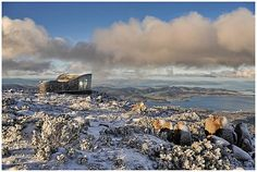 Winter time, June 2012, Mt wellington, Hobart, Tasmania, Australia