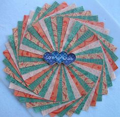 50 per pk.Quilting Fabric,Teal Green mix Swirl Charm pack 5 inch squares