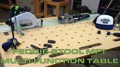 Feddie-Stool MFT (Multi Function Table)
