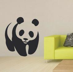 VINYL DECAL PANDA WALL ART STICKER