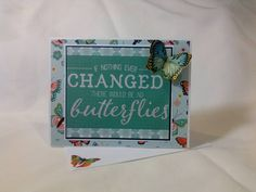 If nothing ever changed Greeting Card  blank by beautifullygreen
