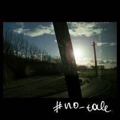 No tale #skantzman #no_tale #heraklion #crete #sky #trees #velvia #road #colour #sun #france