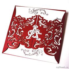 Indian Wedding Invitations| Myshaadi.in#India#Wedding Card#Marriage Invitation