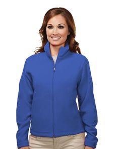 Women's Micro Fleece Jacket (100% Spun Polyester). Tri mountain 7120