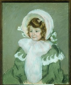 Mary Cassatt, (American, 1844–1926). Child in Green Coat, ca. 1904. The Metropolitan Museum of Art, New York. From the Collection of James Stillman, Gift of Dr. Ernest G. Stillman, 1922 (22.16.24) #kids