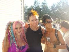 with Dj at Defqon 2009 Rave, Dj, Posters, Hair Styles, Beauty, Raves, Beleza, Hair Looks, Cosmetology