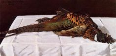 Pheasant, 1869. Claude Monet