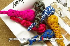 Paracord Key Holders