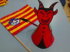 manualitat, dimoni i bandera de Menorca.