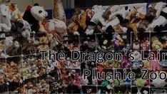 Greatest plush this side of Betelgeuse -- from Aardvark to Zebra Dragon's Lair, Plushies, Exhibit, Exotic, Anime, Stuffed Animals, Cartoon Movies, Anime Music, Animation