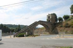 Portomarín, Lugo #Galicia #CaminodeSantiago #LugaresdelCamino