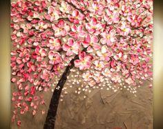 Made2order ORIGINAL riesige Landschaft abstrakt Pink von artmod