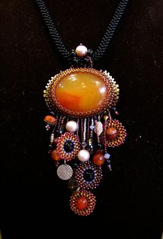 Beauty in the Autumn  Necklace by ARTSTUDIO51 on Etsy, $198.00