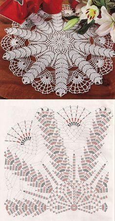 Free Crochet Patterns Darmowe Wzory Free Crochet Patterns Darmowe Wzory Knitting ProjectsCrochet For BeginnersCrochet PatternsCrochet Baby Free Crochet Doily Patterns, Crochet Doily Diagram, Crochet Motif, Crochet Designs, Crochet Lace, Knitting Patterns, Crochet Coaster, Thread Crochet, Crochet Stitches