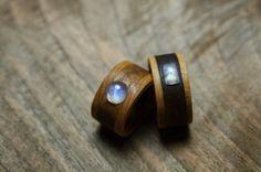 rings, moonstone