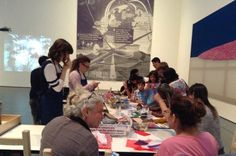 Pop-up art program article