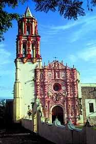 Landa Mission in Landa, Queretaro, Mexico  www.tourbymexico.com