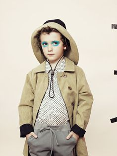 Kids fashion make-up