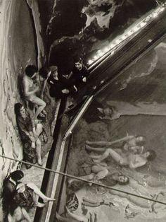 Mirror reflection Paris 1933 by Brassaï