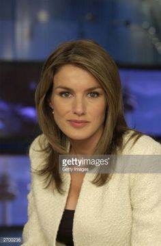 In this handout from Television Espanola, Spanish television journalist Letizia Ortiz Rocasolano is seen. Her engagement to Spain's heir Prince Felipe was announced by the palace on November 3, 2003. The wedding will take place at the start of summer 2004 at Almudena Cathedral in Madrid.