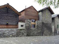 lepostitjaune:  DREIPUNKT ARCHITEKTEN Rebuilding Houses Group in Naters. Switzerland 2002