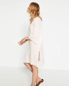 Image 3 of FINE KNIT DRESS from Zara