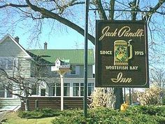 Jack Pandl's Whitefish Bay Inn, Milwaukee WI. Favorite is the walleye with wild rice and the garlic toast rounds.