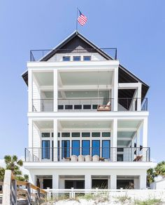 Luke Bryan& Beautiful Florida Home - Inside Country Star Luke Bryan& Beautiful Florida Beach House Named to Honor His Late Brother - Southernliving. Beach House Tour, Beach House Plans, Dream Beach Houses, Beach House Decor, Hamptons Beach Houses, Beach House Names, Small Beach Houses, Beachfront House, Beach Cottage Style