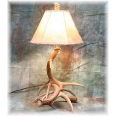 We carry this Hidalgo Small Whitetail Deer Antler Table Lamp, and other fine American-made rustic furniture and décor. Browse our rustic furniture catalogs now. Free Delivery to 48 states. Deer Antler Lamps, Antler Lights, Antler Chandelier, Antler Art, Antler Crafts, Chandeliers, Rustic Desk, Rustic Furniture, Antler Light Fixtures